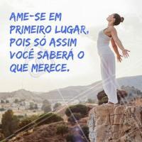 Amor próprio sempre!  #bemestar #quote #ahazou #motivacional