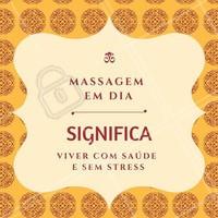 Que tal começar o dia com uma massagem? #Massagem #Saúde #CorpoeMente #BenefíciosMassagem #Motivacional #MotivacionalMassagem