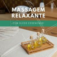 As massagens com óleos essenciais de Alfazema, Eucalipto ou Camomila são ótimas opções para aliviar a tensão muscular e estresse, pois estimulam a circulação sanguínea e renovam energias. Além disso, ajudam a reduzir a tensão muscular e promove o relaxamento dos músculos.  #Massagem #Saúde #BenefíciosMassagem #Óleo