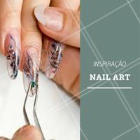 Para aquelas que gostam de ousar na Nail Art! #Unha #Manicure #InspiraçãoUnha #Inspiração #NailArt