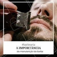 Ao contrário do que muitos pensam, não basta apenas lavar a barba durante o banho, alguns cuidados extras são essenciais para que você tenha uma ótima barba, que cresça de forma uniforme, e que não se torne uma barba muito falha. #Barba #Barbearia #Homens #DicaBarbearia