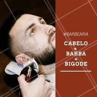 Agende já o seu horário para fazer o nosso pacote completo! #Barba #Barbearia #Homens #DicaBarbearia