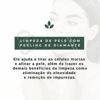 Agende já a sua sessão de limpeza de pele com Peeling de Diamante! #LimpezaDePele #EstéticaFacial #Estética #PeelingDeDiamante #ahazou #Tratamento #TratamentoFacial