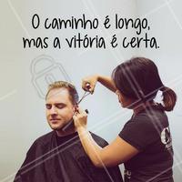 Não perca o foco!  #ahazou #cabeleireiro #salãodebeleza