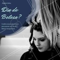 Sabe o Dia de Beleza dos sonhos? Agora está com um precinho que cabe no bolso, venha saber mais sobre a nossa promoção especial e saia do salão se sentindo uma princesa. #diadebeleza #cabelo #promoção #ahazou