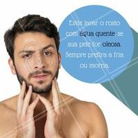 Até mesmo para que você consiga prevenir da acne e derivados!   #Estetica #EsteticaFacial #AguaMorna #PeleOleosa #BemEstar #ahazou #estéticaparahomens #homens #Cuidados #Care #OilySkin #Pele #Skin #homem #esteticamasculina #masculino #Acne