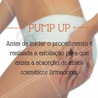 Ficou interessada? Então bora agendar um horário! O pump up é o tratamento ideal para você que busca o famoso bumbum na nunca.   #pumpup #ahazou #bumbumnanuca #estética