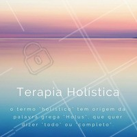 O principal objetivo da Terapia Holística é tratar o paciente em sua totalidade do ser, abrangendo os aspectos sociais, emocionais, energéticos e físicos. #terapiaholistica #saúde #bemestar #ahazou
