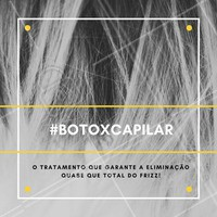 As pessoas acabam confundindo o botox capilar com a escova progressiva, mas são processos completamente diferentes! O botox não tem na sua composição produtos químicos como o formol.   #ahazou #botoxcapilar #botox #cabelo