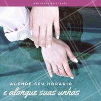 Não deixe suas unhas mal feitas nunca mais, agende já seu alongamento! 💅 #alongamentodeunha #amo #unhas #ahazou