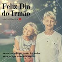 Porque irmão é para vida toda! Uma amizade dessas não tem preço!  #diadoirmão #ahazou #irmão