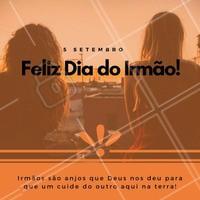 Meu irmão é minha vida! Feliz dia do irmão, marque o seu aqui nos comentários para que ele saiba o quanto você o ama!  #diadoirmão #irmao #ahazou