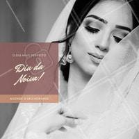 Neste dia é essencial que a noiva esteja MARAVILHOSA, aqui não deixamos por menos! Agende o seu horário!  #diadanoiva #noiva #ahazou #beauty