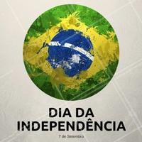 Feliz dia da Independência do Brasil. Que a gente tenha um país mais honesto, justo, sem corrupção e violência. Amém! #beleza #ahazou #diadaindependencia #brasil
