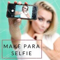 Para sair bem na foto, o melhor truque de maquiagem é o contorno. Com um tom mais escuro que a sua pele e de fundo frio, você consegue usar em pontos estratégicos do rosto para fazer um efeito de sombra e deixar o rosto mais fino. #truque #maquiagem #selfie #contorno #dicademake