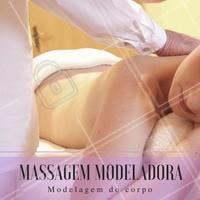 A massagem modeladora é uma massagem feita com movimentos mais fortes e profundos, com o intuito de atingir camadas mais profundas da pele.  #ahazou #estéticacomamor #beauty #estética #estéticaesaúde #bemestar #saúde #massagemmodeladora