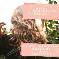 Alopécia Androgenética (calvície feminina) é um problema pouco falado mas muito comum entre as mulheres. Mas, não há motivo para sofrer! ;) Para tratar, uma opção é o microagulhamento capilar! Agende já o seu horário e saiba mais sobre esse tratamento! #microagulhamentocapilar #cabelo #estetica #ahazou