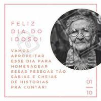 Quando formos idosos, nada mais seremos do que pequenas crianças num corpo frágil, cheio de sabedoria e experiência. Feliz dia do idoso! :) #diadoidoso #idoso #ahazou #amo