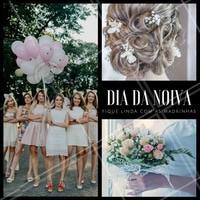 Seu Dia da Noiva vai ficar ainda mais emocionante se suas madrinhas estiverem junto de você! Se arrumem, se embelezem e deem muita risada no seu grande dia. #ahazou #casamento #diadanoiva #noiva #amo #emocionante #especial #madrinhas