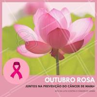 """Movimento mundial """"Outubro Rosa"""", que visa chamar atenção para a conscientização da luta contra o câncer de mama e a importância do diagnóstico precoce. Apoie você também, faça parte dessa luta!  #outubrorosa #outubro #rosa #ahazou #conscientização"""