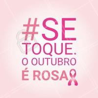Estamos no Outubro Rosa, um mês dedicado à conscientização em relação aos cuidados que as mulheres devem ter com a própria saúde.  Nós apoiamos essa causa e você? #beleza #autoestima #ahazou #outubrorosa #cancerdemama