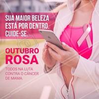 A Campanha Municipal Outubro Rosa chama atenção para a prevenção do câncer de mama e de outros tipos que atingem as mulheres. Fazer o autoexame é um método eficaz e que você mesma pode fazer. Não espere! A prevenção pode levar apenas 5 minutos do seu dia. #beleza #autoestima #ahazou #outubrorosa #cancerdemama