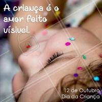 Crianças são amor, puras!  Ame as crianças! Feliz dia das crianças!  #ahazou #diadacriança #diadascrianças