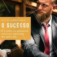 Corra atrás do seu sucesso e conquiste seus sonhos! Feliz dia do empreendedor! #diadoempreendedor #empreendedorismo #ahazou #sucesso