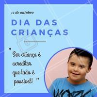 Feliz dia das crianças! Nesse dia tão especial, vamos aprender a valorizar e amar TODAS as crianças. 💗 #diadascriancas #criancaespecial #ahazou #criancasespeciais