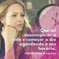 Não corra o risco de ficar sem horário, agende agora conosco! #SalaoDeBeleza #Beleza #Ahazou #Autoestima #Cabelos #CabeloDiva #Instabeauty #Manicure #CorteDeCabelo