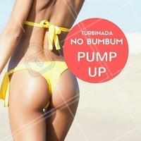Bora levantar essa autoestima? O verão está chegando e que tal deixar o bumbum lá em cima? Agende o seu horário e experimento o PUMP UP! Ideal para você que busca o bumbum na nuca!  #bumbumnanuca #pumpup #corpo #ahazou