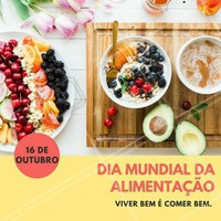 Hoje, dia 16 de outubro, é comemorado o dia mundial da Alimentação! 🍎🍫🥗 Marque aqui aquela sua amiga que ama comer! 🙋 #diadaalimentacao #ahazou #alimentacao