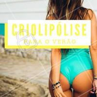 Você já conhece o poder da criolipólise? Agende já a sua e arrase no verão! ☀️ #criolipolise #verao #tratamentosesteticos #ahazou