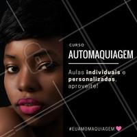 Se você está procurando entender as melhores técnicas de maquiagem para o seu rosto, este curso é ideal para você!  Aproveite e agende o seu horário!  #automaquiagem #maquiagem #maquiagens #ahazou #cursomaquiagem