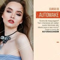 Descubra seu formato de rosto, quais o melhores produtos para a sua pele, transforme o seu olhar! Tudo isso com um maravilhoso curso de automaquiagem! Aproveite!   #ahazou #automaquiagem #maquiagem #makeup #automake #cursomaquiagem
