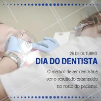 Feliz dia do dentista! Proporcionando felicidade e belos sorrisos!  #ahazou #dentista #diadodentista #diamundialdodentista