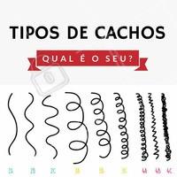 Todos lindos, né? 😍 E aí, qual é o seu? Ondulado, cacheado ou crespo? #cacheada #cachos #curlyhair #cachinhos #ahazou #cachosperfeitos