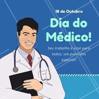 Ser médico é dar a vida para outras vidas! Parabéns, médicos!  #medicos #médicos #medico #médico #ahazou #diadomédico
