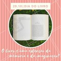 No dia mundial do livro, que tal estimular a leitura e toda a imaginação que tem dentro de você e todos aqueles que estão a sua volta? Leia um livro, dê um livro de presente, faça a sua parte. #leitura #diadolivro #livro #educação #ahazou #amo #imaginação