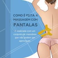 A massagem age diretamente na pele!  Agende o seu horário e sinta os benefícios da massagem com pantalas!  #pantalas #massagem #massagemcompantalas #pantala #ahazou