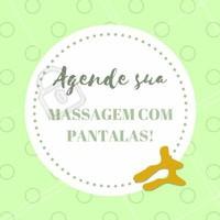 Não perde tempo! Venha sentir os benefícios da massagem com pantalas na sua pele! Agende o seu horário já!   #ahazou #massagemcompantalas #pantalas #massagem