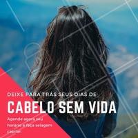 Agende já o horário da sua selagem e fique com o cabelo renovado e saudável que você sempre sonhou! #selagem #selagemcapilar #ahazou #tratamento #cuidados #amo #cabelo #fios #queratina #brilho
