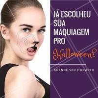 E aí? Já sabe qual make vai usar esse Halloween? 🎃 Me conta nos comentários! #maquiagemhalloween #maquiagemartistica #halloween #ahazou #makeuphalloween