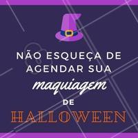 Não vai esquecer, hein? Aproveita pra ir naquela festa arrasando com sua make artística! 🎃🎉 #maquiagemhalloween #maquiagemartistica #halloween #ahazou #makeuphalloween