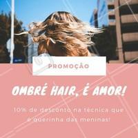 Aproveite nossos descontos e venha agendar o seu horário no nosso espaço!  #ombrehair #ombre #hair #cabelo #loiros #ahazou