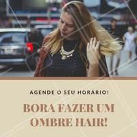 Agende o seu horário e tenha o cabelo dos seus sonhos! O ombré hair é perfeito para você. <3   #ombrehair #ombre #hair #cabelo #loiros #ahazou