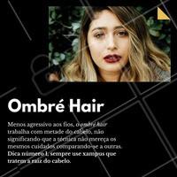 Aqui nós oferecemos esse serviço! Aproveite e agende o seu horário!  <3   #ombrehair #ombre #hair #cabelo #loiros #ahazou #5ptz