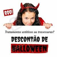 A bruxa está solta, e boazinha! Aproveite a promoção de Halloween, tratamentos estéticos ideiais para você! Sua pele não precisa ficar enrugada como a da bruxa da Branca de Neve, né? #diadasbruxas #halloween #bruxa #sobrancelha #ahazou