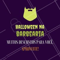 A bruxa está solta, e boazinha! Aproveite a promoção de Halloween!  #barbearia #diadasbruxas #bruxas #halloween #ahazou
