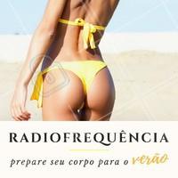 Prepare-se para o Verão! Deixe seu corpo ainda mais lindo, com o poder da radiofrequência 👊 #radiofrequencia #estetica #flacidez #gorduralocalizada #ahazou #corpo #verao2018